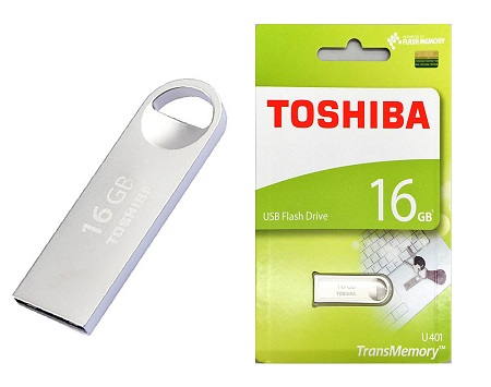 Toshiba Flash disk - silver - 16GB