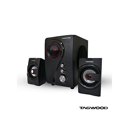 TAGWOOD MP-55 Multimedia Speaker System With Bluetooth - Black