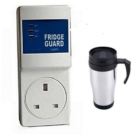Fridge Guard + Travelling Mug