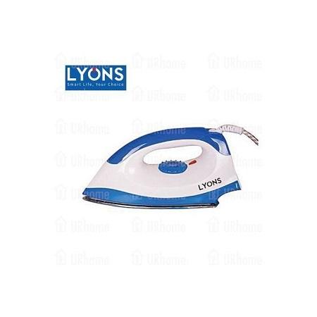 Lyons Dry Iron Box - White & Blue