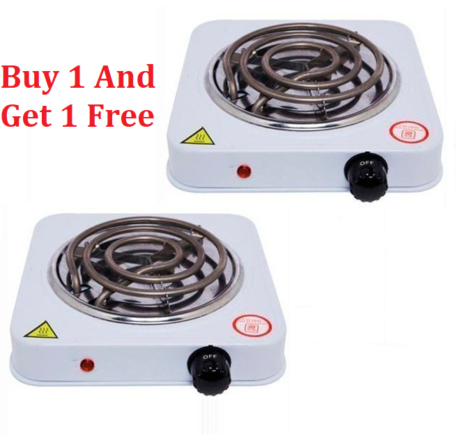 Buy One Single Electric Coil Hot Plate and Get One for FREE