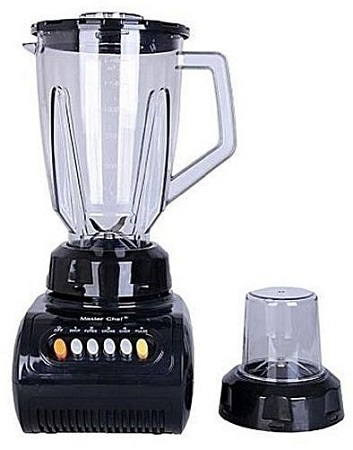 2 in 1 Electric Blender- Black