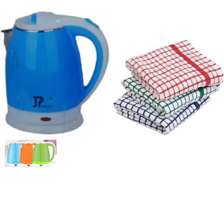 Jamespot Electric Kettle + Free Kitchen Towels