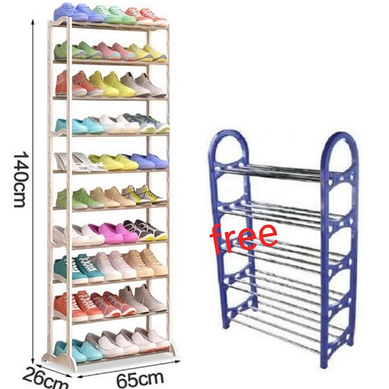 Buy Amazing Shoe rack and Get 1 FREE