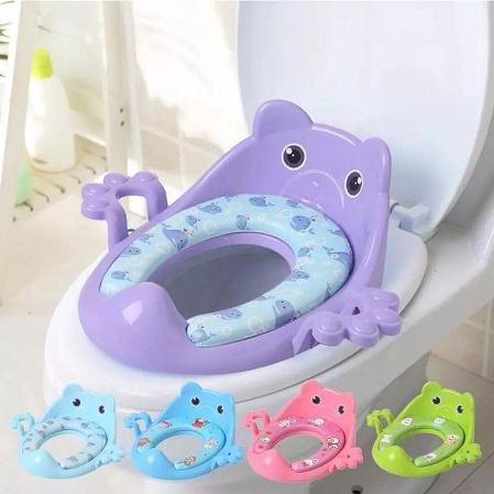 Cute Baby Toilet Sit -Color May Vary from the  Main Image