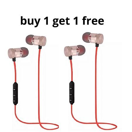 Bluetooth Magnetic Earphones Buy One Get One FREE