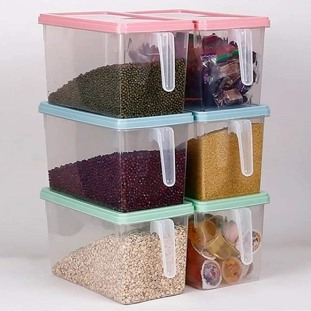 Cereal Storage Containers - 3 Pieces