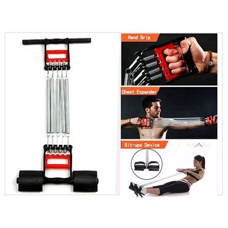 Home Fitness Equipment Chest Expander And Tummy Trimmer 5-Calibrated Spring