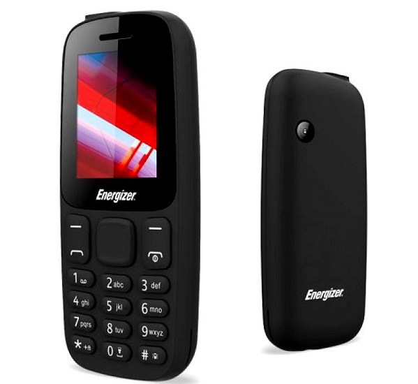 Energizer Feature Phone- Black