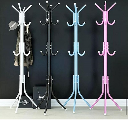 Multipurpose Hanger and Stand for Handbags, Scarfs, Hats And Coat