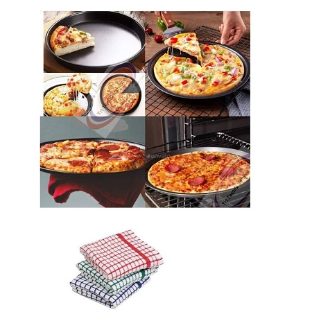 Non-stick Pizza Pan/ Baking/ Cooking/ Oven Tray