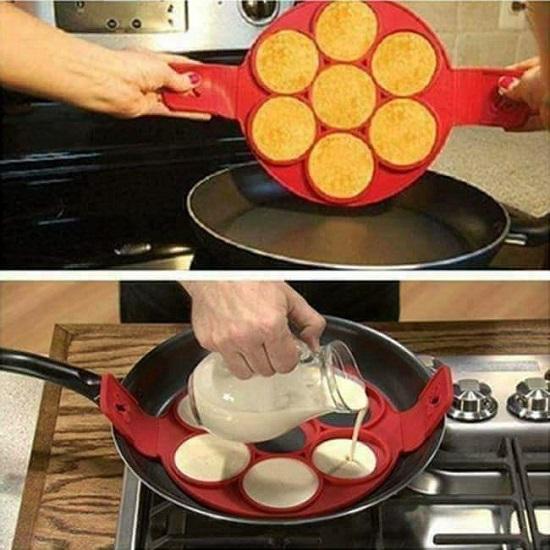 Non Stick Silicone Pancake Maker Flipper