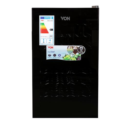 Von VAWC-41DHK Dual Zone Wine Cooler – Black
