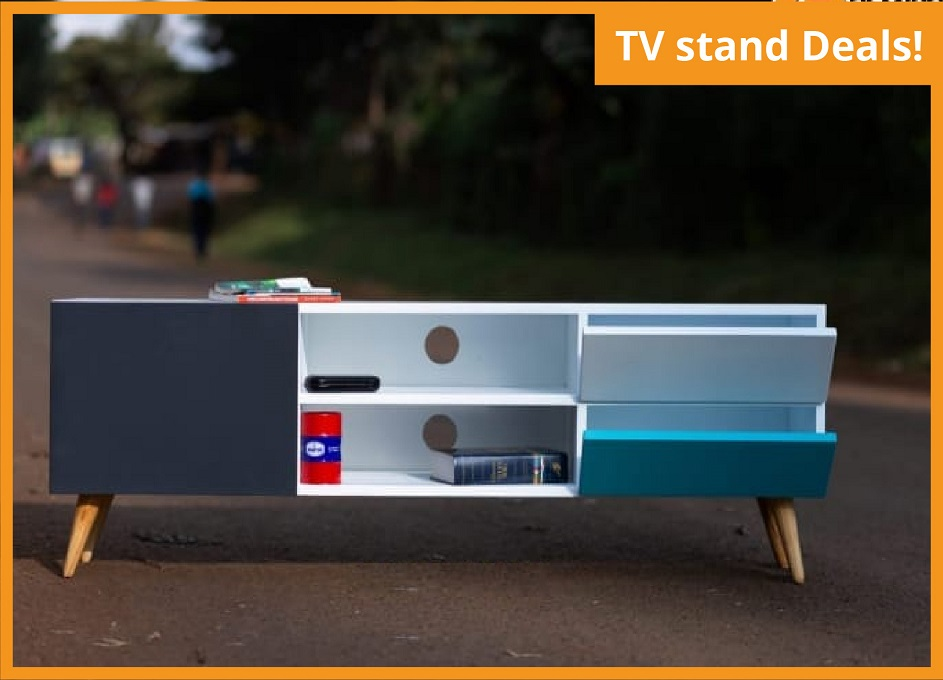 TV STAND (5ft length, 14 inches width & 20 inches height)