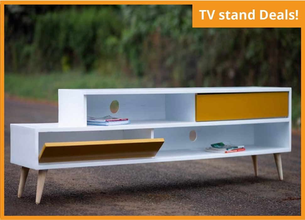 TV STAND (6ft Length, 14 Inches Width & 20 Inches Height)