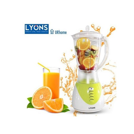 Lyons FY-1731 Blender 2 In 1 With Grinder Machine 1.5L Green