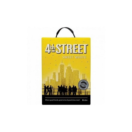 4th Street Sweet White Wine - 5 Litres