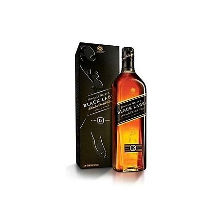 Johnnie Walker Whisky Black Label - 1 Litre