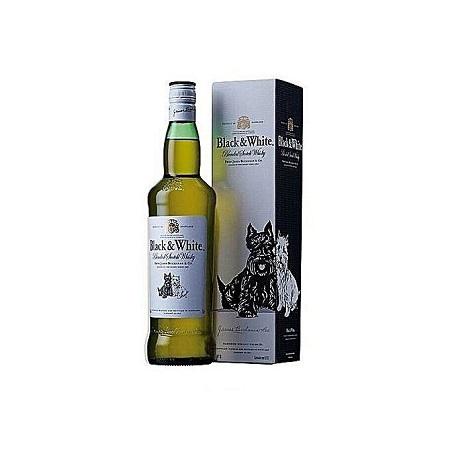 Black & White Whisky 1 Litre