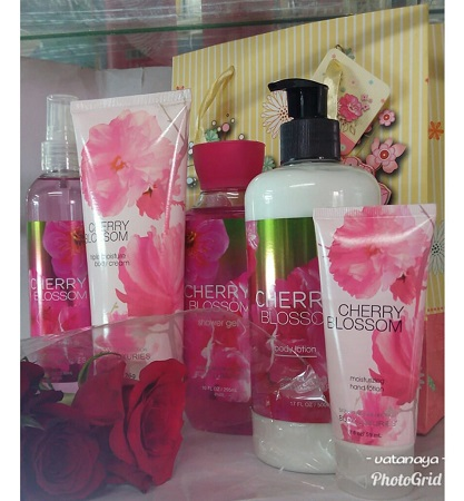 Signature Collection Cherry Blossom  5 in 1 Set