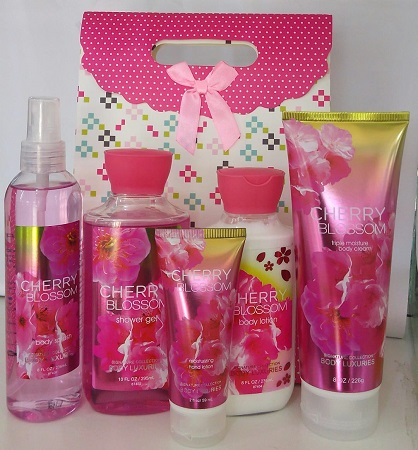 Signature Collection, Body Luxuries Cherry Blossom 5 in 1 Set