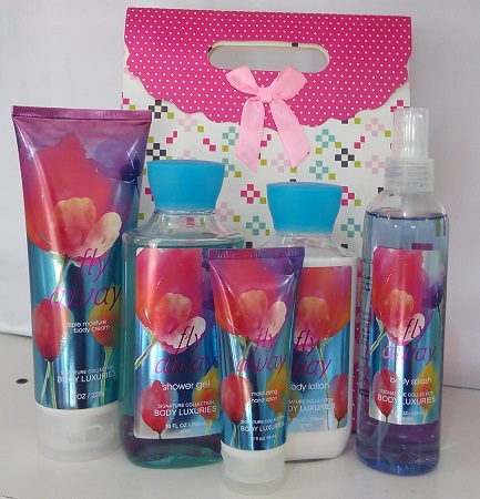 Signature Collection, Body Luxuries Fly Away 5 in 1 Set