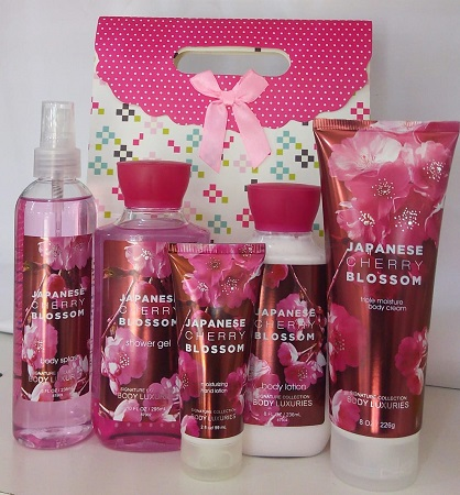 Signature Collection, Body Luxuries Japanese Cherry Blossom 5 in 1 Set