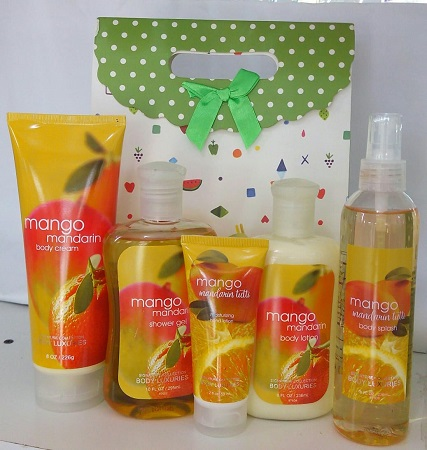 Signature Collection, Body luxuries Mango Mandarin 5 in 1 Set