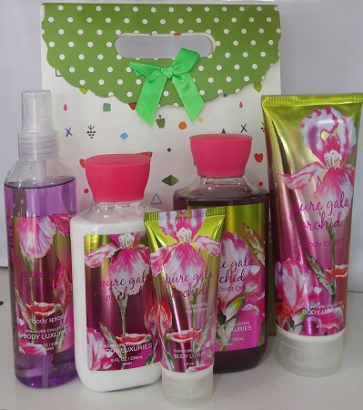 Signature Collection, Body Luxuries Pure Gala Orchid 5 in 1 Set