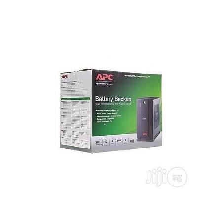 Apc Back-UPS Line-Interactive 700VA Black Uninterruptible Power Supply (UPS)