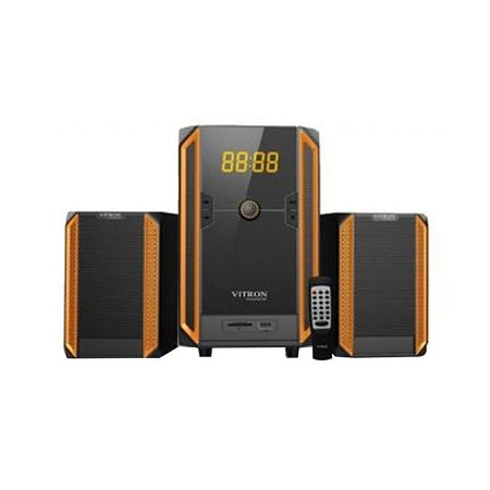 Vitron V328 2.1CH USB Multimedia Speaker Subwoofer Black&Yellow