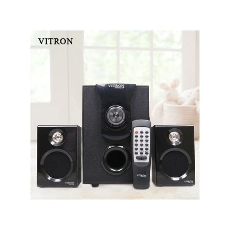 Vitron Subwoofer Vitron 413D Multimedia System 2.1Speaker-Black