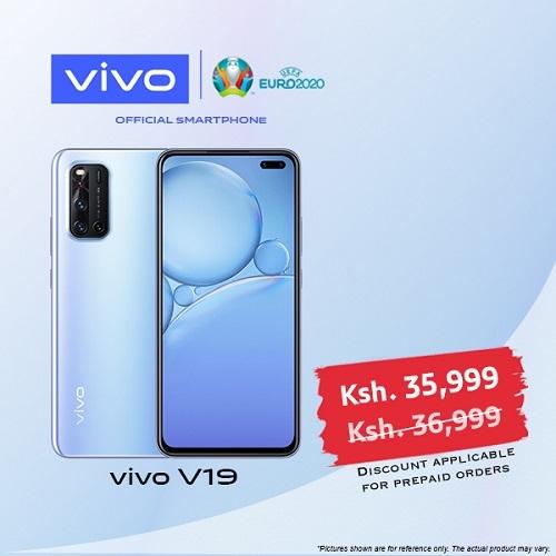 vivo V19 - 6.44 Inch- 128GB+8GB RAM - Dual SIM - 4G - 4500mAh