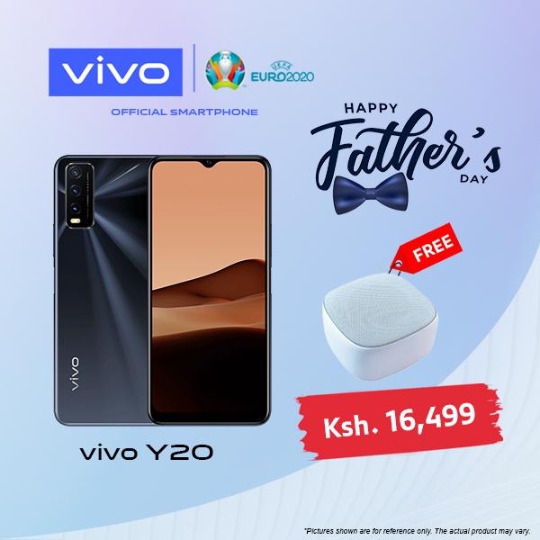 Vivo Y20, 6.51 Inch, 64 GB + 4 GB (Dual SIM)