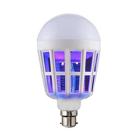 Mosquito Killer Lamp Watt Energy Saving LED Bulb - White