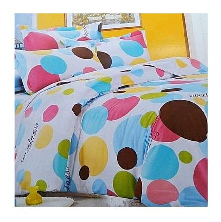 Elegant Cotton Duvet Set-multicolored