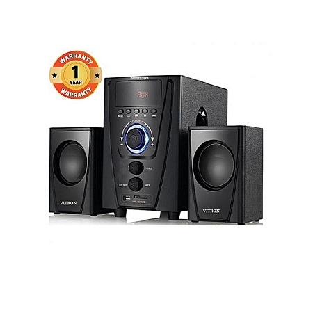 Vitron V008 2.1CH Multimedia Speaker System - Black