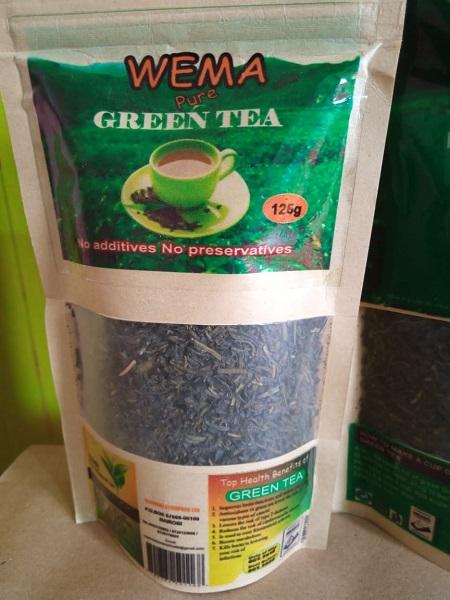 Wema Pure Green Tea 125g