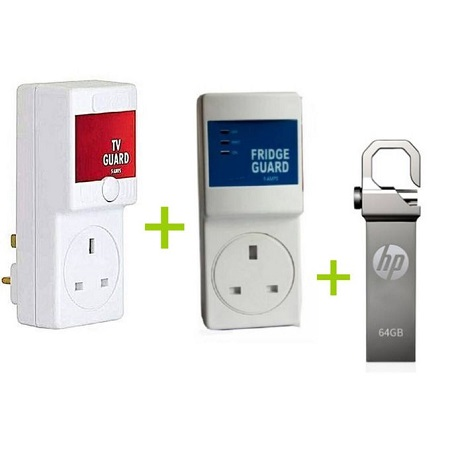 TV Guard + Fridge Guard + FREE 64 GB flash disk