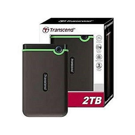Transcend 2TB Harddisk -Black