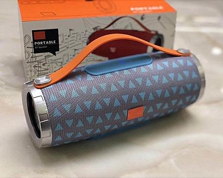 TG-109 Waterproof Outdoor Portable Bluetooth speaker Audio - Blue
