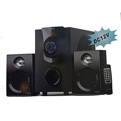 Vitron V411 2.1 4500W Subwoofer System Channel USB/SD/FM