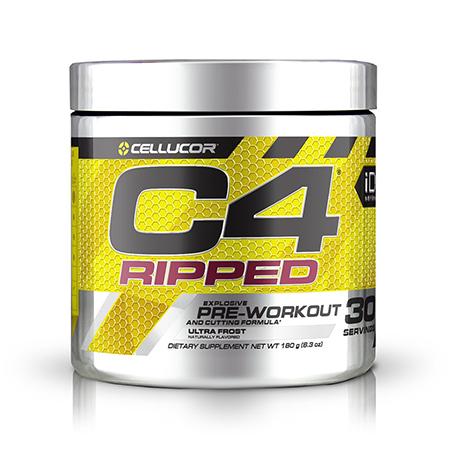 C4 Ripped Sport Pre Workout Powder