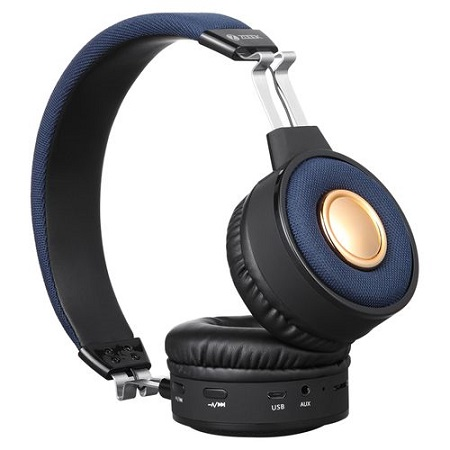 ZOOOK ZB-Soul - Premium Bluetooth Stereo Headphone - Blue