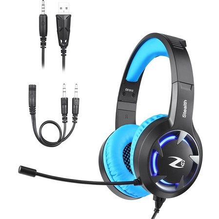 ZOOOK ZG-Stealth Professional Gaming Headset - Blue