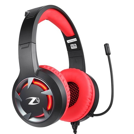 ZOOOK ZG-Stealth Professional Gaming Headset - Red