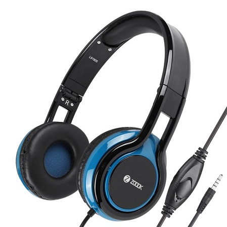 ZOOOK ZM-Sublime - Wired Premium Headphones - Black