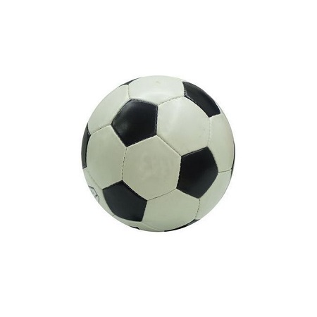 Mikasa GENUINE Leather Football - Black & White