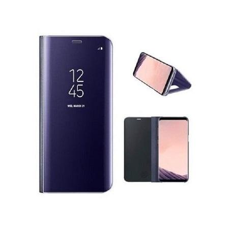 SAMSUNG Galaxy S8 Clear View Cover - Dark Blue